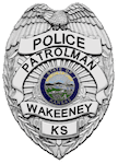 Wakeeney Police Patrolman Badge
